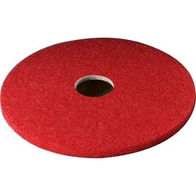 3M™ Red Buffer Pad 5100, 17 in, 5/case