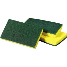 "3M™ Scotch-Brite™ Medium Duty Scrub Sponge 74, 6-1/10"" x 3-3/5"""