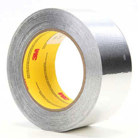 "3M Aluminum Foil Tape 425 Silver, 1/2"" x 180', 4.6 Mil Package Count 72 by"