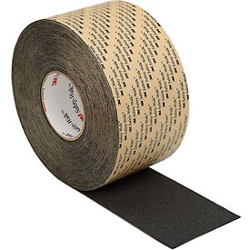 3M™ Safety-Walk™ Slip-Resistant Med. Resilient Tapes/Treads 310, BK, 4 in x 60 ft,1/case