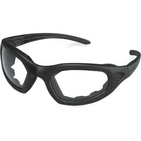 3M Maxim Safety Goggle 2x2, Clear Anti-Fog Lens, Blk Frame, Strap, Side Vented