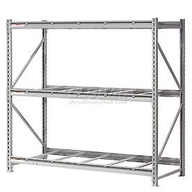 Global - Extra High Capacity Metal Bulk Storage Rack Without Decking