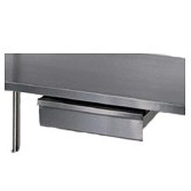 "Aero Manufacturing T120A 15""W x 20""D x 5""H Stainless Steel Drawer for Stainless Steel Workbench"