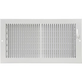 AmeriFlow® 2-Way Ceiling / Sidewall Register - Pkg Qty 20