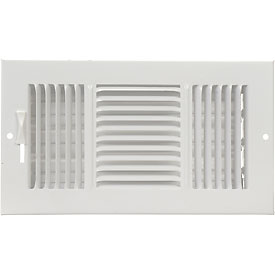 AmeriFlow® 3-Way Ceiling / Sidewall Register - Pkg Qty 10