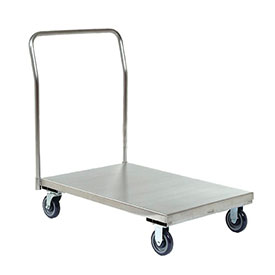 Jamco Stainless Steel Deck Platform Truck XP360 60 x 30 1200 Lb. Capacity