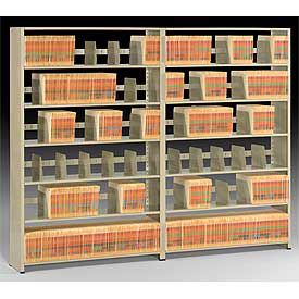 Tennsco - Imperial High Density Steel Shelving - 22 Gauge - 76