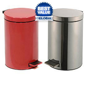 Medical Step-On Steel Waste Cans