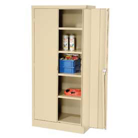 Compact Easy Assembly Full Height Storage Cabinets