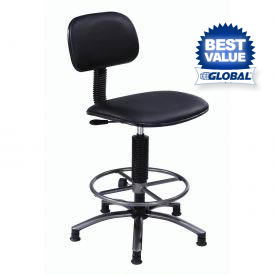 Interion™ - Vinyl Production Stool With Footring