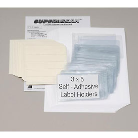 "Magnetic Label Holder 5""W X 3""H (50 pcs/pkg)"