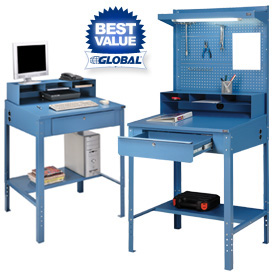 Shop Amp Receiving Desks At Global Industrial