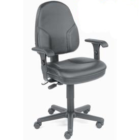 Interion™ - Synchro Leather Chair