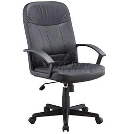 Interion® Executive Leather Chair