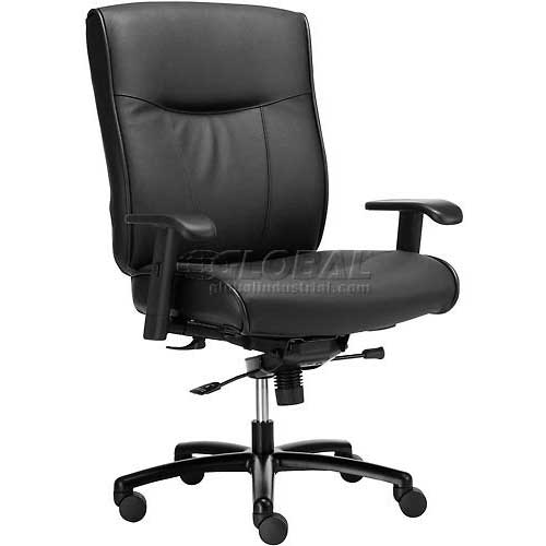 Interion® Big & Tall Executive Leather Chair