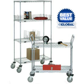 Nexelate Wire Shelf Trucks & Utility Carts