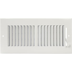 AmeriFlow® 2-Way Ceiling / Sidewall Register - Pkg Qty 10