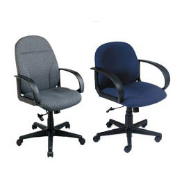 Interion® Ergonomic Fabric Upholstered Seating