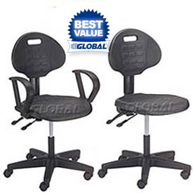Interion® Puncture Proof Ergonomic Polyurethane Chair
