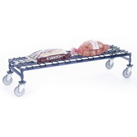 Nexel® - Heavy Duty Mobile Wire Dunnage Racks