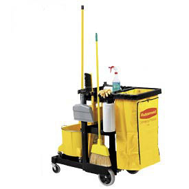Rubbermaid® Janitor & Cleaning Carts