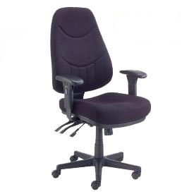 Interion® 8-Way Ergonomic Adjustable Seating
