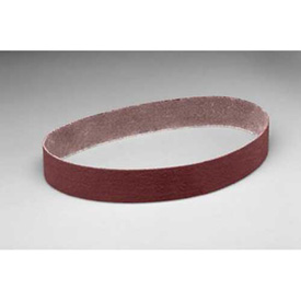 "3M Cloth Belt 341D 2-1/2"" x 60"" P120 Grit Aluminum Oxide Package Count 25 by"