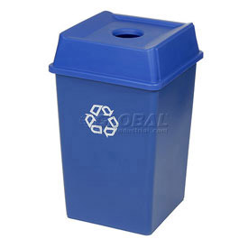 Rubbermaid® High Volume Station Recycling Containers