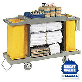 Global™ Housekeeping Cart