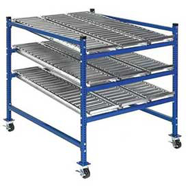 "UNEX Flow Cell Mobile Gravity Rack 36""W x 60""D x 54""H"