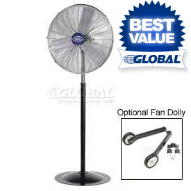 Pedestal Fan - Deluxe Industrial Oscillating