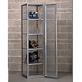 All-Welded Visible Storage Locker
