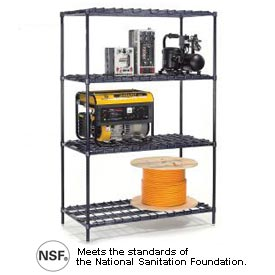 Nexel® - Adjustable HD Wire Shelving (1,600 lb max shelf cap)