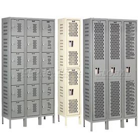 Hallowell Heavy-Duty Ventilated Steel Lockers
