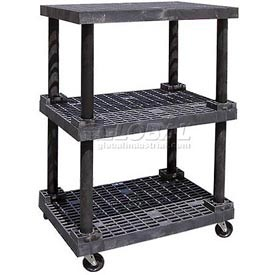 SPC Dura-Shelf® Structural Plastic Mobile Shelving Trucks