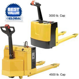 Self-Propelled Electric Power Pallet Jack Trucks