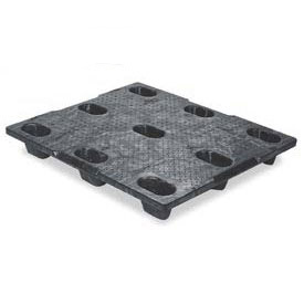 Nestable Structural Plastic Pallet Static Capacity 30000 Lbs.