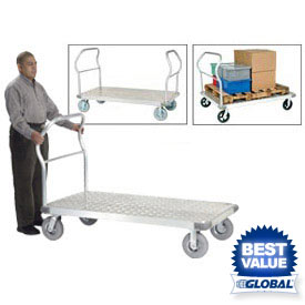 Aluminum Diamond Deck Platform Trucks