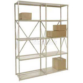Tennsco Extra High Steel Shelving - 22 Gauge (Up to 16' High)