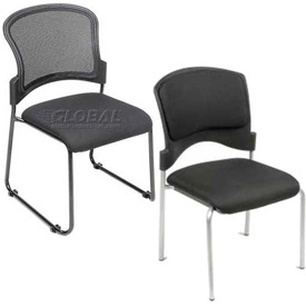 Interion® - Upholstered Stackable Chairs