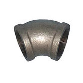 BMI Canada MGL4507 45 Elbow 150# Galvanized Malleable - 3/4''