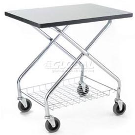 Fold & Store Service Table Carts