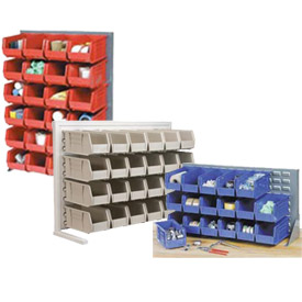 Bin Racks With Stacking Bins