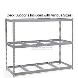 8'H Boltless Wide Span Metal Storage Rack Without Decking