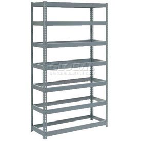 8' High Boltless Steel Shelving Without Decking