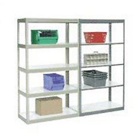 8' High Boltless Steel Shelving With Laminated Shelves