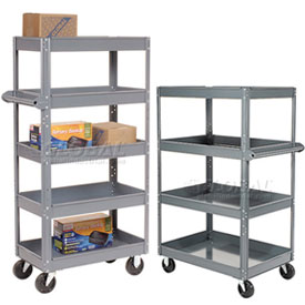 Steel Shelf Storage Trucks - Ready to Assemble