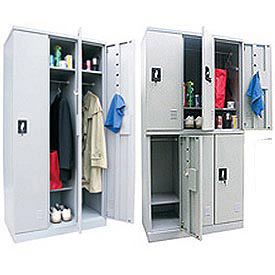 Easy Assembly Boltless Steel Lockers