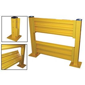 Drop-In Steel Guard Rail System