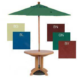 Wooden Pole Umbrellas